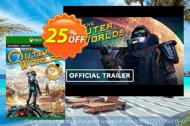 The Outer Worlds Expansion Pass Xbox One (UK) discount 25% OFF, 2021 Italian Republic Day offering sales. The Outer Worlds Expansion Pass Xbox One (UK) Deal 2021 CDkeys
