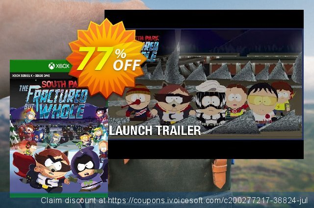 South Park The Fractured But Whole Xbox One discount 75% OFF, 2021 Midsummer deals. South Park The Fractured But Whole Xbox One Deal 2021 CDkeys