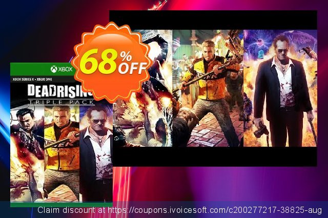Dead Rising Triple Bundle Pack Xbox One (UK) discount 68% OFF, 2021 Father's Day offer. Dead Rising Triple Bundle Pack Xbox One (UK) Deal 2021 CDkeys