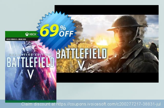 Battlefield V Definitive Edition  Xbox One (UK) discount 69% OFF, 2021 World Environment Day promo. Battlefield V Definitive Edition  Xbox One (UK) Deal 2021 CDkeys