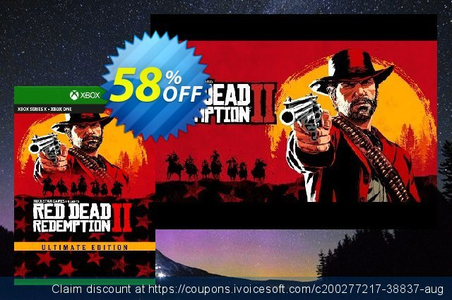 Red Dead Redemption 2: Ultimate Edition Xbox One (EU) discount 58% OFF, 2021 Summer offering sales. Red Dead Redemption 2: Ultimate Edition Xbox One (EU) Deal 2021 CDkeys