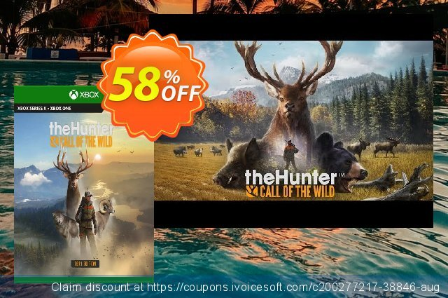 theHunter Call of the Wild - 2021 Edition Xbox One (UK) discount 58% OFF, 2021 Selfie Day offering discount. theHunter Call of the Wild - 2021 Edition Xbox One (UK) Deal 2021 CDkeys