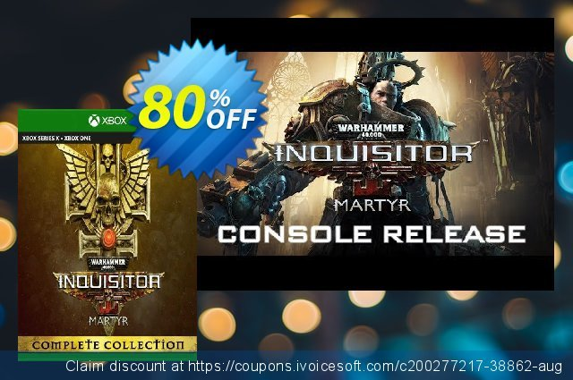 Warhammer 40000: Inquisitor - Martyr Complete Collection Xbox One (UK) 独占 产品销售 软件截图