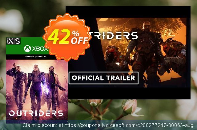 Outriders Xbox One/ Xbox Series X|S (UK) discount 42% OFF, 2021 Summer offer. Outriders Xbox One/ Xbox Series X|S (UK) Deal 2021 CDkeys