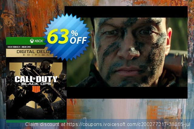 Call of Duty: Black Ops 4 - Digital Deluxe Xbox One (EU) discount 63% OFF, 2021 Flag Day offering discount. Call of Duty: Black Ops 4 - Digital Deluxe Xbox One (EU) Deal 2021 CDkeys