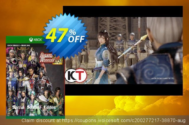 Dynasty Warriors 9 Special Scenario Edition Xbox One (UK) discount 47% OFF, 2021 World Environment Day offering sales. Dynasty Warriors 9 Special Scenario Edition Xbox One (UK) Deal 2021 CDkeys