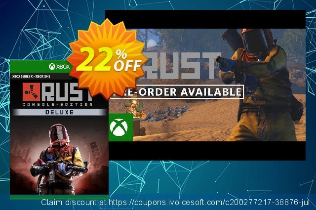 Rust Console Edition - Deluxe Edition Xbox One (US) discount 12% OFF, 2021 Midsummer offering sales. Rust Console Edition - Deluxe Edition Xbox One (US) Deal 2021 CDkeys