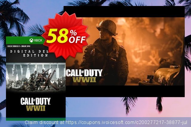 Call of Duty WWII - Digital Deluxe Xbox One (US) 令人难以置信的 产品交易 软件截图