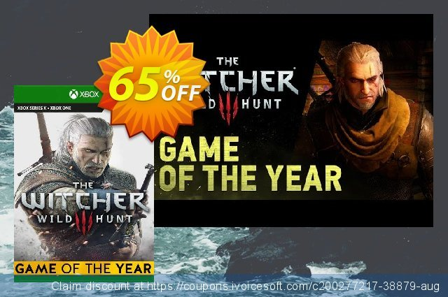 The Witcher 3: Wild Hunt – Game of the Year Edition Xbox One (EU) 令人惊讶的 促销 软件截图