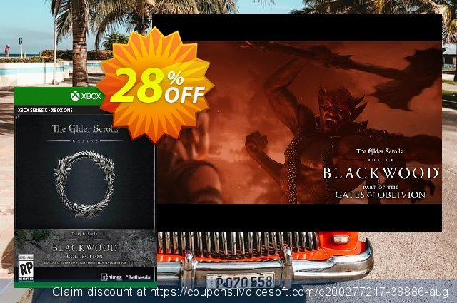 The Elder Scrolls Online Collection: Blackwood Xbox One (UK) discount 28% OFF, 2021 World Day of Music offering deals. The Elder Scrolls Online Collection: Blackwood Xbox One (UK) Deal 2021 CDkeys