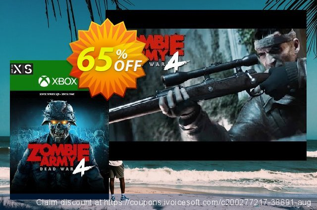 Zombie Army 4 Dead War Xbox One/ Xbox Series X|S (UK) discount 65% OFF, 2021 Flag Day offering sales. Zombie Army 4 Dead War Xbox One/ Xbox Series X|S (UK) Deal 2021 CDkeys