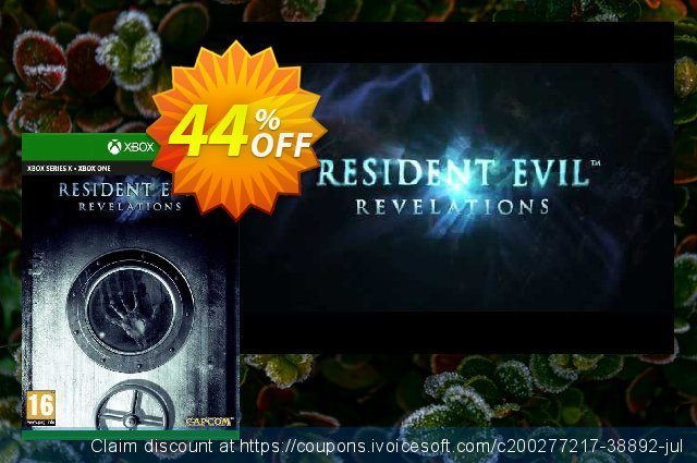 Resident Evil Revelations Xbox One (UK) discount 44% OFF, 2021 Global Running Day offering sales. Resident Evil Revelations Xbox One (UK) Deal 2021 CDkeys