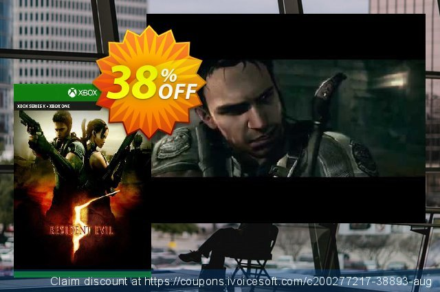 Resident Evil 5 Xbox One (UK) discount 38% OFF, 2021 Italian Republic Day offering sales. Resident Evil 5 Xbox One (UK) Deal 2021 CDkeys