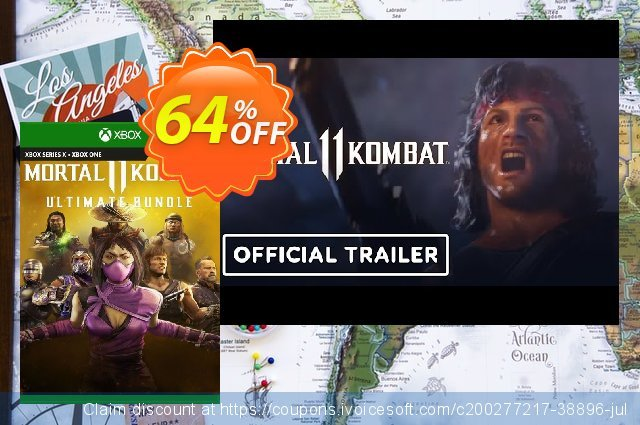 Mortal Kombat 11 Ultimate Xbox One / Xbox Series X S (US) discount 18% OFF, 2021 World Environment Day offering sales. Mortal Kombat 11 Ultimate Xbox One / Xbox Series X S (US) Deal 2021 CDkeys