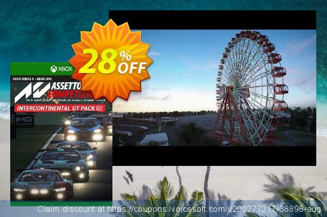 Assetto Corsa Competizione Intercontinental GT Pack Xbox One (UK) discount 28% OFF, 2021 Selfie Day promotions. Assetto Corsa Competizione Intercontinental GT Pack Xbox One (UK) Deal 2021 CDkeys