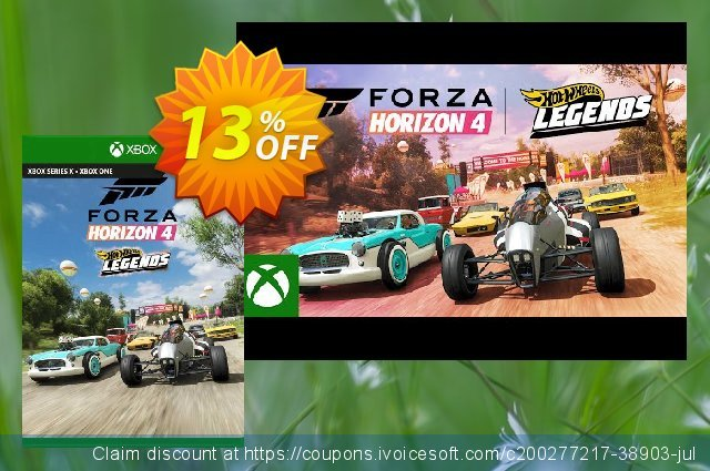 Forza Horizon 4 Hot Wheels Legends Car Pack Xbox One (UK) discount 13% OFF, 2021 Father's Day offering discount. Forza Horizon 4 Hot Wheels Legends Car Pack Xbox One (UK) Deal 2021 CDkeys