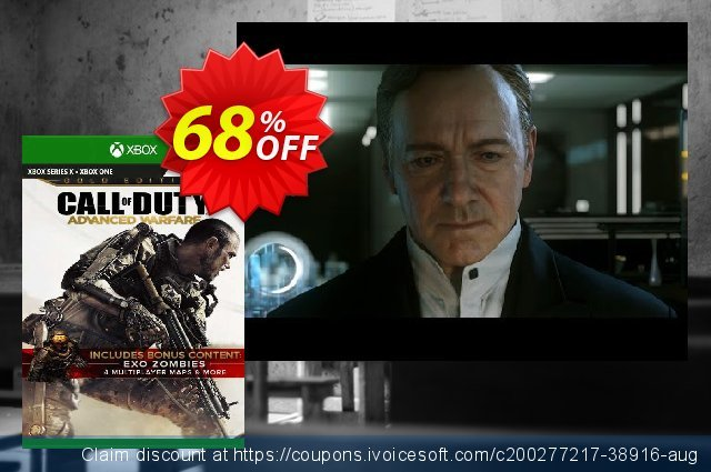 Call of Duty: Advanced Warfare Gold Edition Xbox One (EU) discount 68% OFF, 2021 Father's Day discounts. Call of Duty: Advanced Warfare Gold Edition Xbox One (EU) Deal 2021 CDkeys