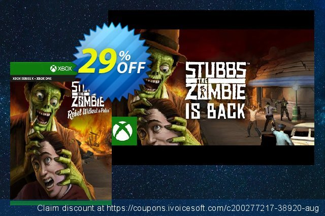 Stubbs the Zombie in Rebel Without a Pulse Xbox One (UK) 最 促销 软件截图