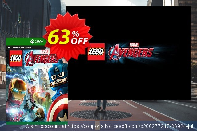 LEGO Marvels Avengers Xbox One (US) discount 40% OFF, 2021 Selfie Day offering deals. LEGO Marvels Avengers Xbox One (US) Deal 2021 CDkeys