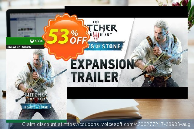 The Witcher 3 Wild Hunt – Hearts of Stone Xbox One (UK) discount 53% OFF, 2021 Egg Day offering sales. The Witcher 3 Wild Hunt – Hearts of Stone Xbox One (UK) Deal 2021 CDkeys