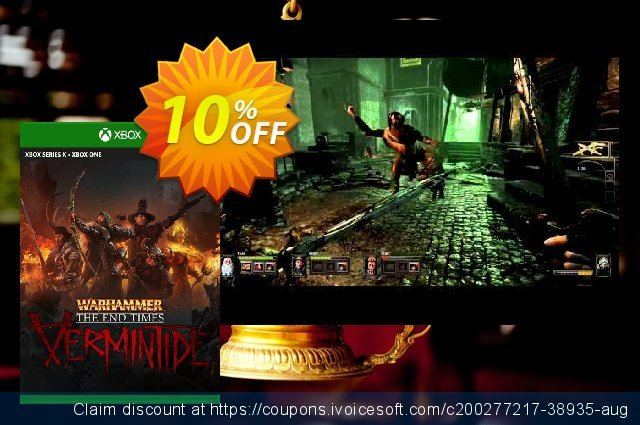 Warhammer: End Times - Vermintide Xbox One (UK) discount 10% OFF, 2021 World Environment Day discounts. Warhammer: End Times - Vermintide Xbox One (UK) Deal 2021 CDkeys
