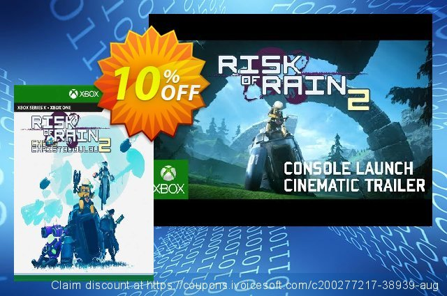 Risk of Rain 2 Xbox One (US) discount 10% OFF, 2021 Kissing Day offer. Risk of Rain 2 Xbox One (US) Deal 2021 CDkeys