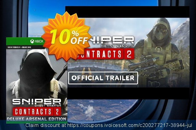 Sniper Ghost Warrior Contracts 2 Deluxe Arsenal Edition Xbox One (UK) discount 10% OFF, 2021 Global Running Day promo sales. Sniper Ghost Warrior Contracts 2 Deluxe Arsenal Edition Xbox One (UK) Deal 2021 CDkeys