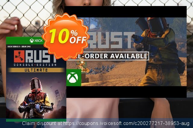 Rust Console Edition - Ultimate Edition Xbox One (EU) discount 10% OFF, 2021 Camera Day offering sales. Rust Console Edition - Ultimate Edition Xbox One (EU) Deal 2021 CDkeys