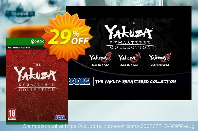 The Yakuza Remastered Collection Xbox One (UK) discount 29% OFF, 2021 Italian Republic Day offer. The Yakuza Remastered Collection Xbox One (UK) Deal 2021 CDkeys