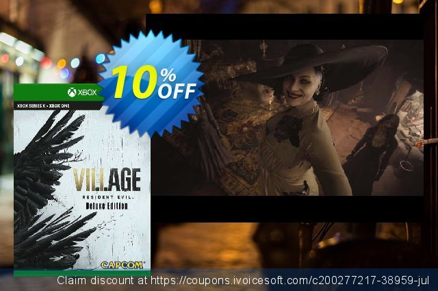 Resident Evil Village Deluxe Edition Xbox One discount 10% OFF, 2021 Egg Day discount. Resident Evil Village Deluxe Edition Xbox One Deal 2021 CDkeys