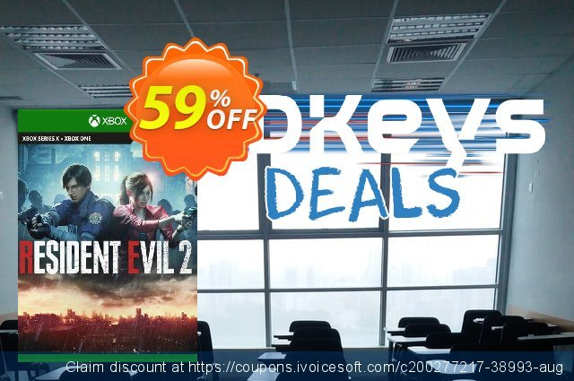 Resident Evil 2 Xbox One (EU) discount 59% OFF, 2021 Summer promotions. Resident Evil 2 Xbox One (EU) Deal 2021 CDkeys