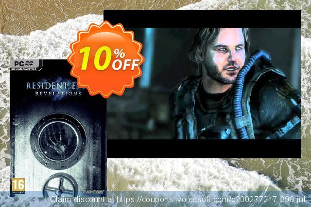 Resident Evil Revelations (PC) discount 10% OFF, 2021 Mother Day offering sales. Resident Evil Revelations (PC) Deal