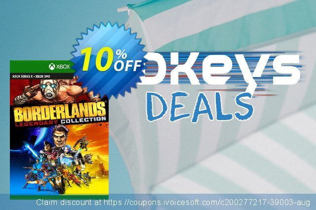 Borderlands Legendary Collection Xbox One (EU) discount 10% OFF, 2021 World Day of Music offering sales. Borderlands Legendary Collection Xbox One (EU) Deal 2021 CDkeys