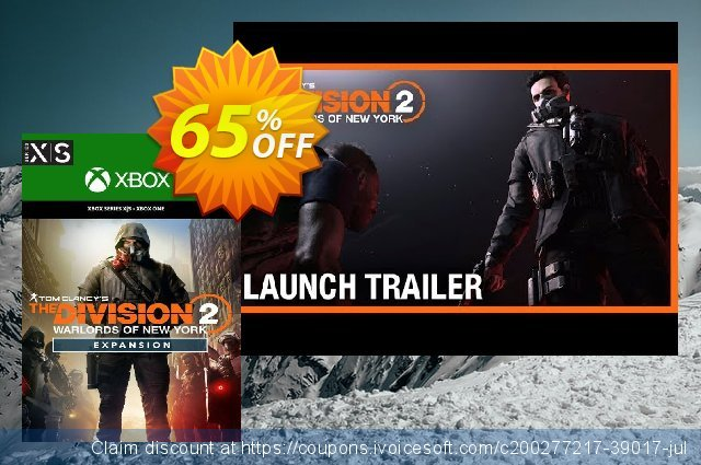 The Division 2 Warlords of New York Expansion Xbox One (EU) discount 65% OFF, 2021 Kissing Day offering discount. The Division 2 Warlords of New York Expansion Xbox One (EU) Deal 2021 CDkeys