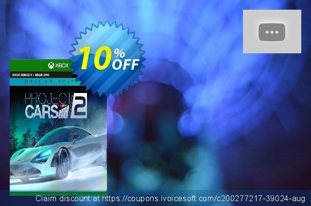 Project CARS 2 Deluxe Edition Xbox One (EU) discount 10% OFF, 2021 Egg Day offering sales. Project CARS 2 Deluxe Edition Xbox One (EU) Deal 2021 CDkeys