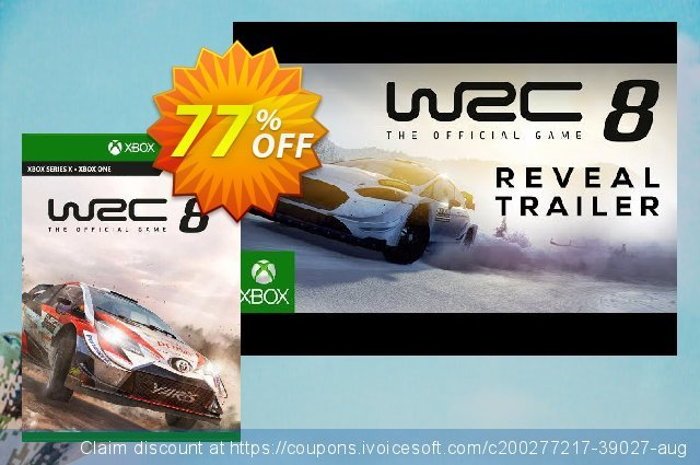 WRC 8 FIA World Rally Championship Xbox One (UK) discount 77% OFF, 2021 Oceans Month offering sales. WRC 8 FIA World Rally Championship Xbox One (UK) Deal 2021 CDkeys