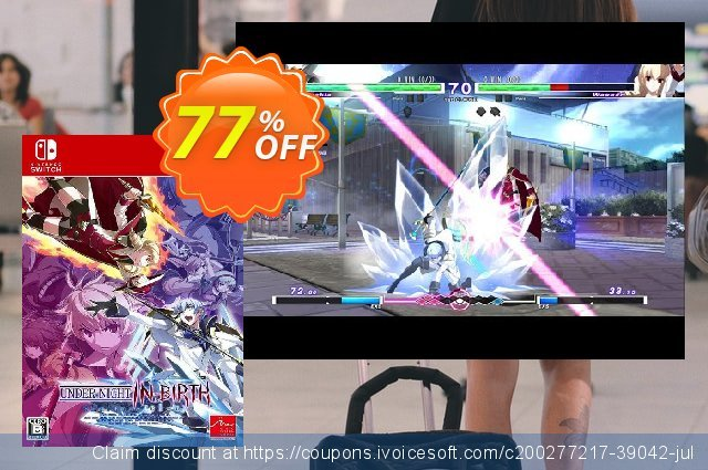 Under Night In-Birth Exe:Late[cl-r] Switch (EU) discount 77% OFF, 2021 World Day of Music offering sales. Under Night In-Birth Exe:Late[cl-r] Switch (EU) Deal 2021 CDkeys