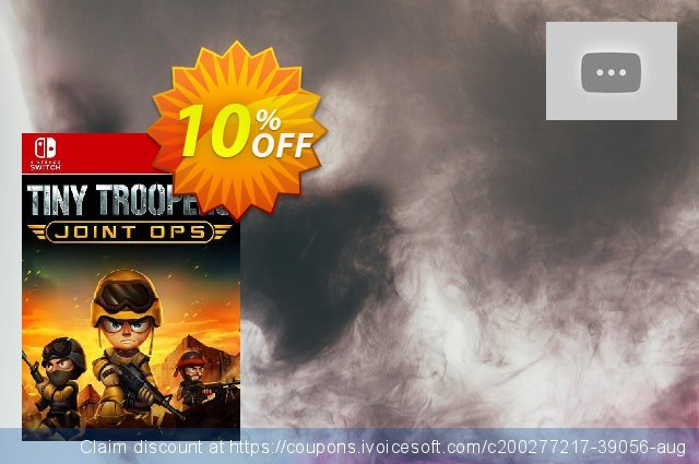 Tiny Troopers Joint Ops XL Switch (EU) discount 10% OFF, 2021 Kissing Day offering sales. Tiny Troopers Joint Ops XL Switch (EU) Deal 2021 CDkeys