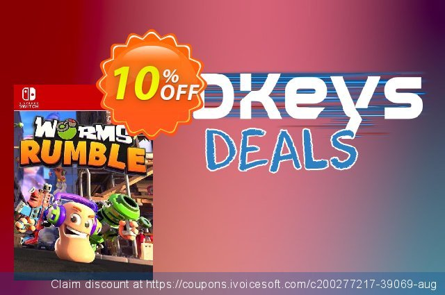 Worms Rumble Switch (EU) discount 10% OFF, 2021 Kissing Day promotions. Worms Rumble Switch (EU) Deal 2021 CDkeys