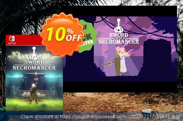 Sword of the Necromancer Switch (EU) discount 10% OFF, 2021 World Bicycle Day promo sales. Sword of the Necromancer Switch (EU) Deal 2021 CDkeys