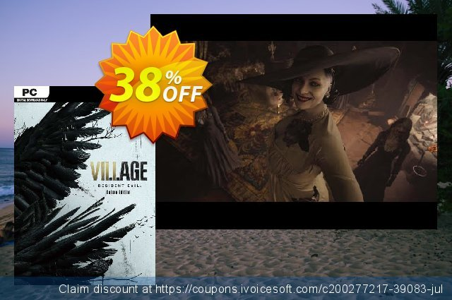 Resident Evil Village - Deluxe Edition + DLC PC (WW) discount 33% OFF, 2021 Camera Day offering sales. Resident Evil Village - Deluxe Edition + DLC PC (WW) Deal 2021 CDkeys