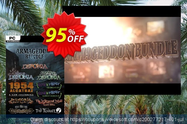 The Daedalic Armageddon Bundle PC discount 96% OFF, 2021 New Year's Day promotions