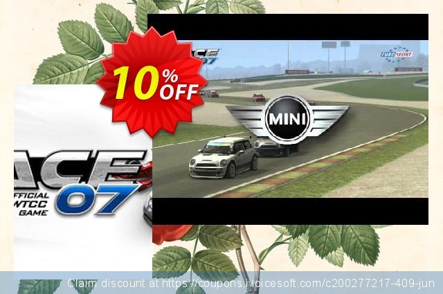 RACE 07 PC discount 10% OFF, 2021 Mother's Day offering sales. RACE 07 PC Deal