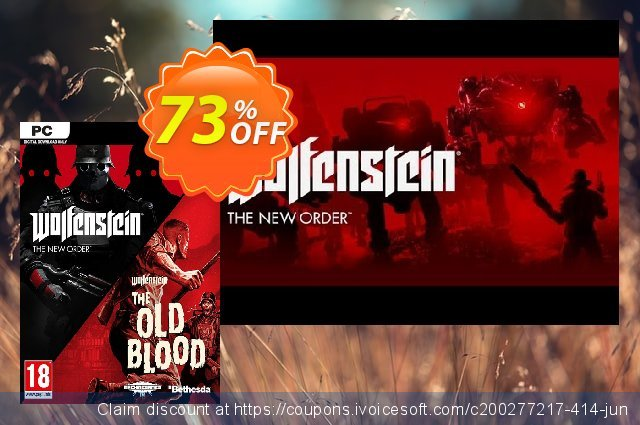 Wolfenstein The New Order and The Old Blood Double Pack PC 令人难以置信的 扣头 软件截图