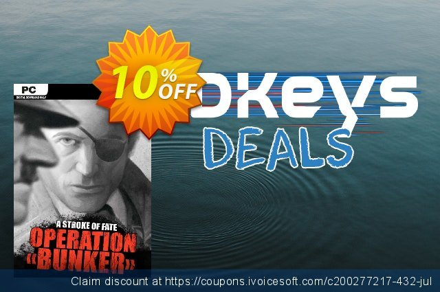A Stroke of Fate Operation Bunker PC discount 10% OFF, 2021 Mother Day offering sales. A Stroke of Fate Operation Bunker PC Deal
