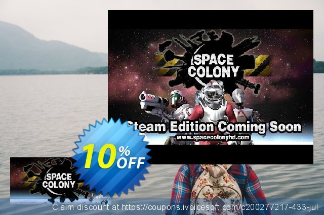 Space Colony Steam Edition PC discount 10% OFF, 2020 Back to School season deals