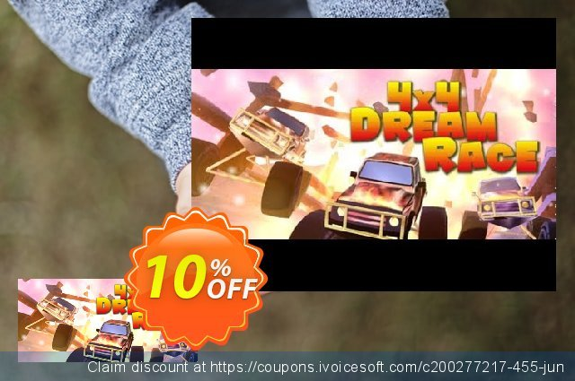 4x4 Dream Race PC discount 10% OFF, 2021 Mother's Day sales. 4x4 Dream Race PC Deal