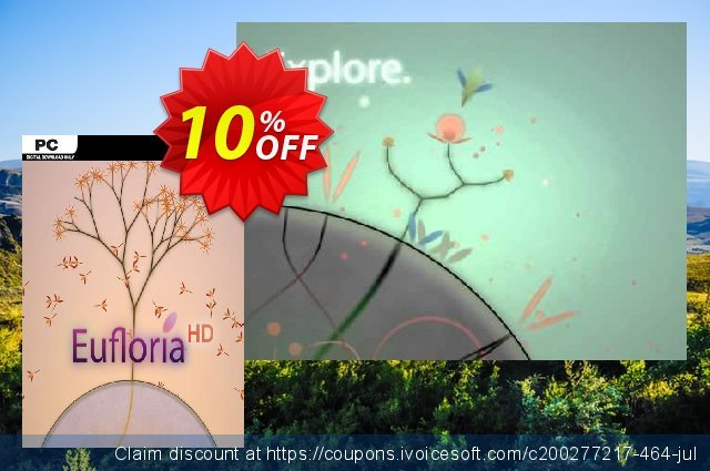Eufloria HD PC discount 10% OFF, 2020 College Student deals offering sales
