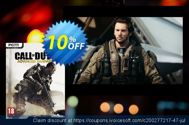 Call of Duty (COD): Advanced Warfare PC discount 69% OFF, 2020 4th of July offering sales