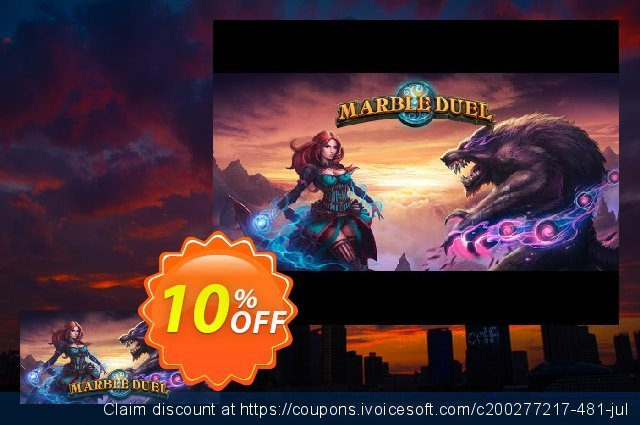 Marble Duel PC discount 10% OFF, 2020 Halloween offering sales